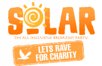 Solar lets rave combo logo